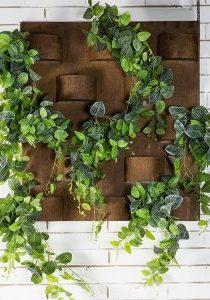 Rusty Wall Planter Garden Decoration